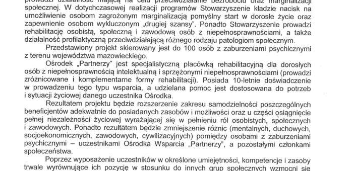 Rekomendacja – Wydział Spraw Społecznych i Zdrowia w Dzielnicy Wola