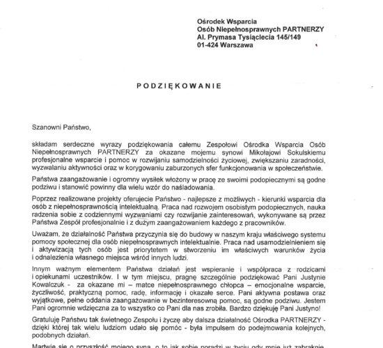 Rekomendacje – Pani Agnieszka  Sokulska – Nitecka