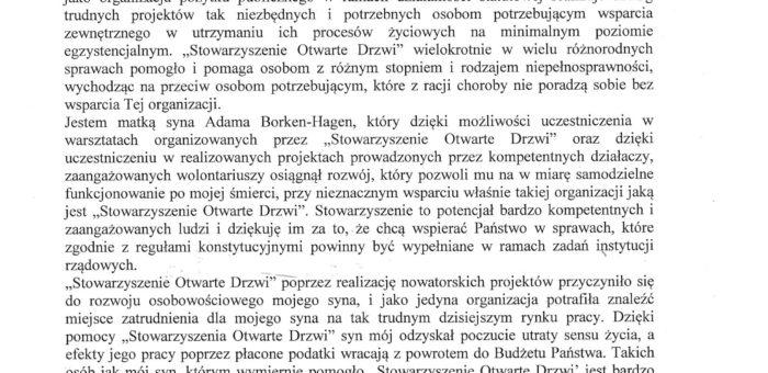 Rekomendacja – Państwo Borken – Hagen