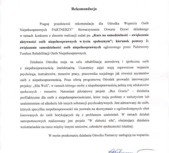 Rekomendacje – Szkoła Podstawa Z Oddziałami Integracyjnymi nr 330 im. Nauczycieli Tajnego Nauczania w Warszawie